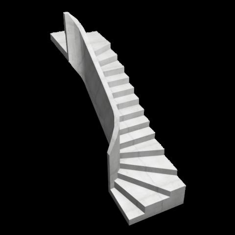 Заказать бетонную лестницу